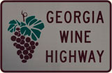 Georgia Wine Highway Sign